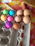 Easter Eggs with Momma