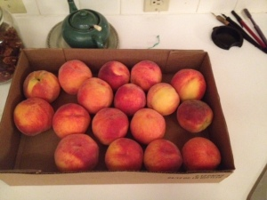 Peaches from the Western Slope